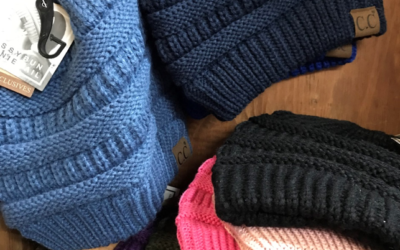 CC Beanies! Baby it is cold outside – finally!